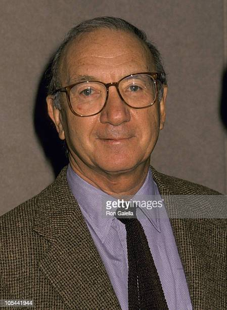 Neil Simon during New Dramatists Lifetime Achievement Award To Neil Simon at Marriott Marquis Hotel in New York City New York United States