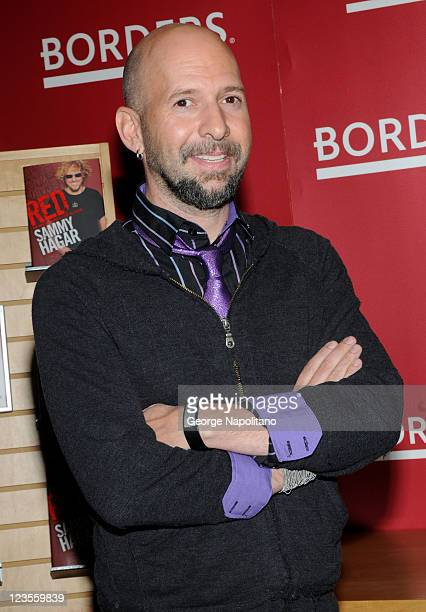 Neil Strauss promotes his new book Everyone Loves You When You're Dead at Borders Columbus Circle on March 15 2011 in New York City