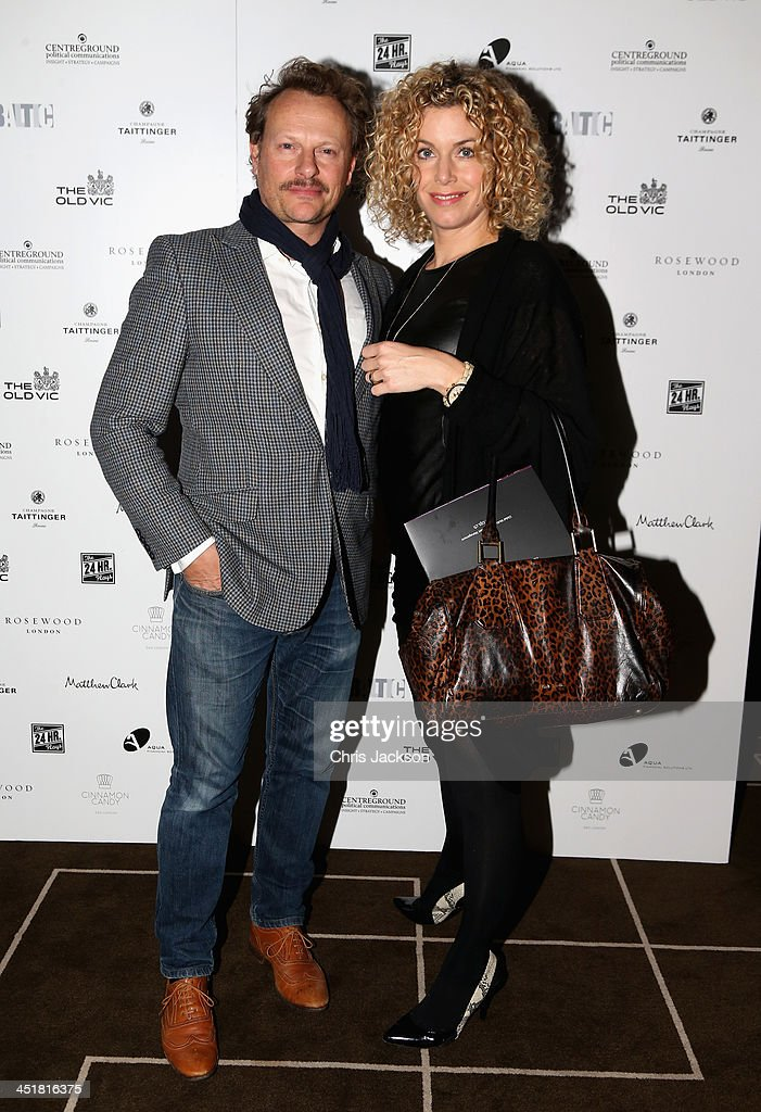 The Old Vic Theatre 24 Hour Celebrity Gala - Post-Show Party : News Photo