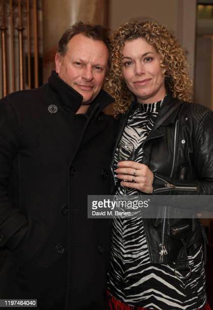 "Neil Stuke and Sally Ann Stuke attend the press night performance of the English National Opera's ""Carmen"" at The London Coliseum on January 29, 2020..."