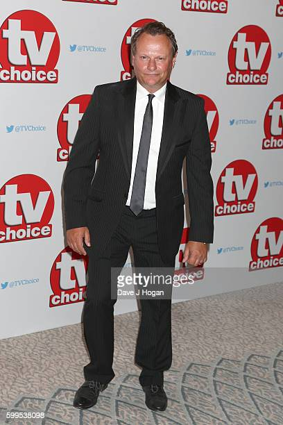 Neil Stuke arrives for the TVChoice Awards at The Dorchester on September 5 2016 in London England