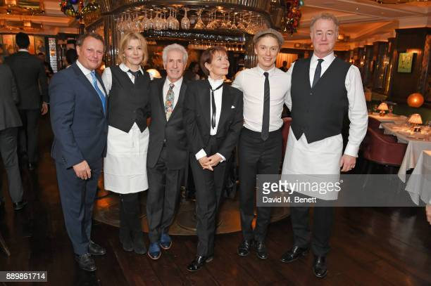Neil Stuke Jemma Redgrave George Layton Celia Imrie Freddie Fox and Owen Teale attend 'One Night Only At The Ivy' in aid of Acting for Others on...