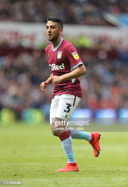 Neil Taylor of Aston Villa during the Sky Bet Championship match between Aston Villa and Norwich City at Villa Park on May 5, 2019 in Birmingham,...