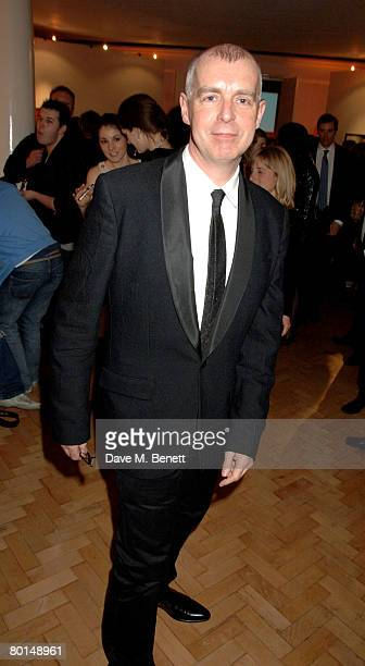 Neil Tennant attends the TOD's Art Plus Film Party, at 1 Marylebone Road on March 6, 2008 in London, England.