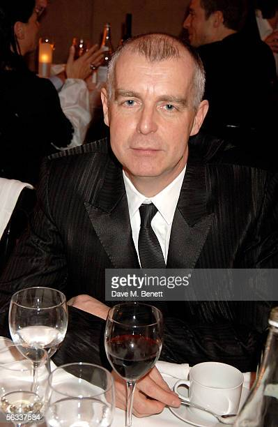 Neil Tennant attends the Turner Prize 2005 at Tate Britain on December 5 2005 in London England David Lammy hosts this year's prestigious arts prize...