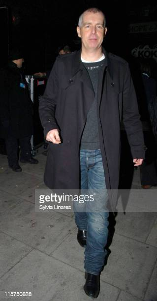 Neil Tennant during Scissor Sisters Charity Concert Outside Arrivals at KoKo Club in London Great Britain