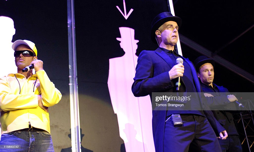 Pet Shop Boys performing at HM Tower of London Festival of Music