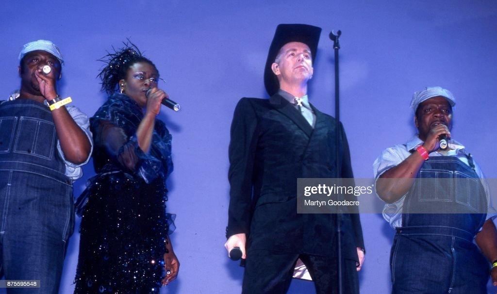 Pet Shop Boys Glastonbury 2000 : Foto jornalística
