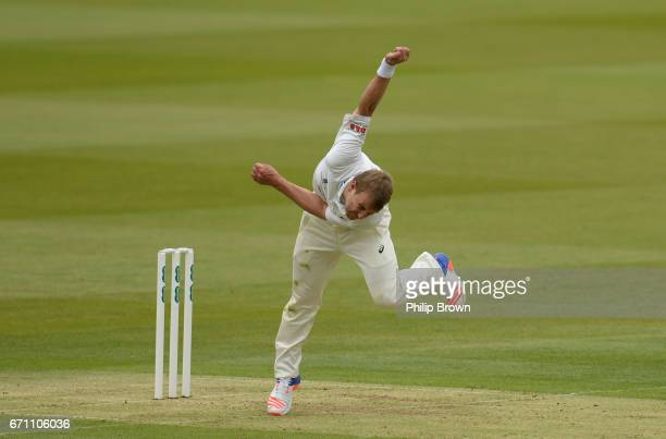 Neil Wagner of Essex bowls during day one of the Specsavers County Championship Division One cricket match between Middlesex and Essex at Lord's...