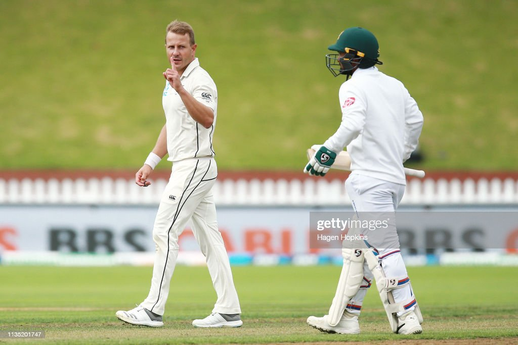 New Zealand v Bangladesh - 2nd Test: Day 5 : News Photo