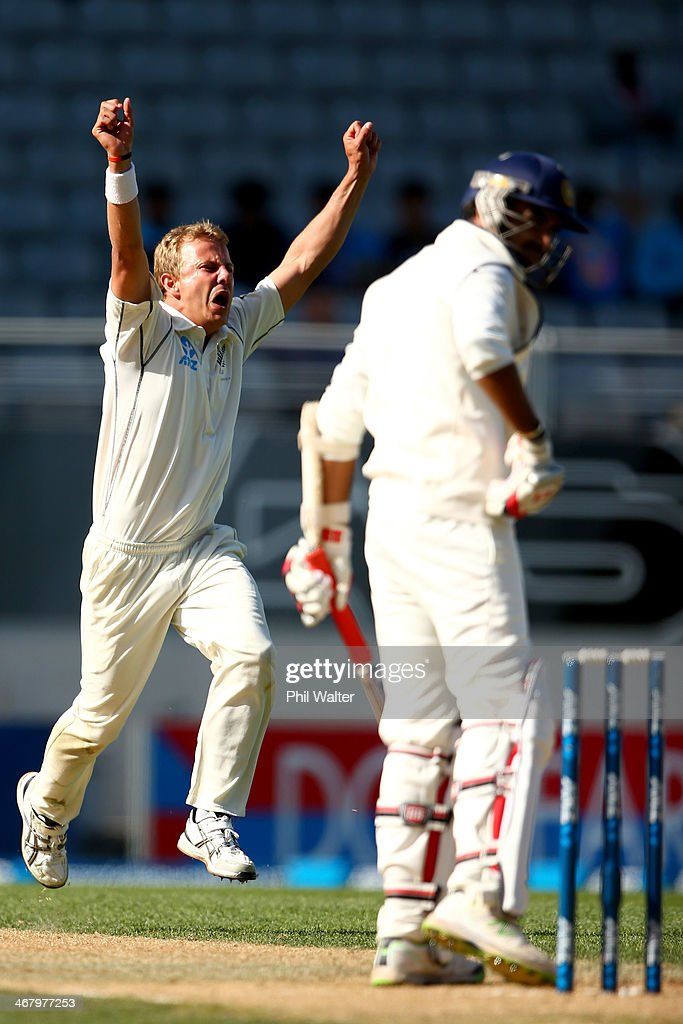 New Zealand v India - First Test: Day 4