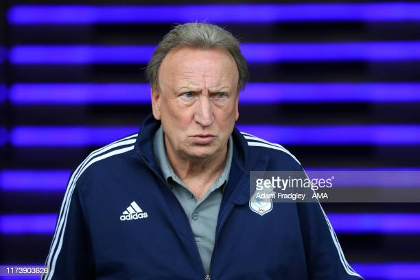 Neil Warnock Manager / Head Coach of Cardiff City during the Sky Bet Championship match between West Bromwich Albion and Cardiff City at The...