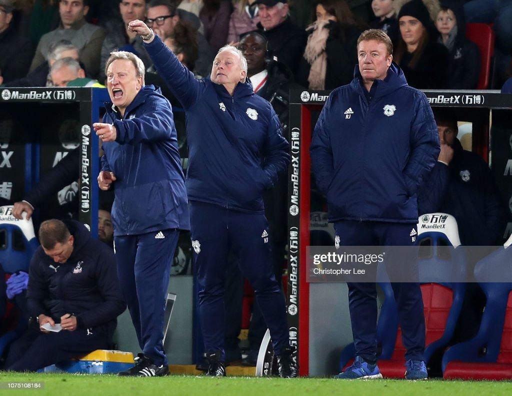 Crystal Palace v Cardiff City - Premier League : News Photo
