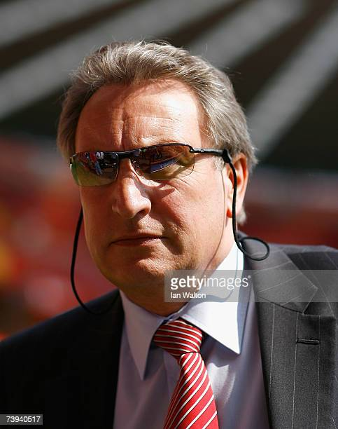Neil Warnock the Sheffield United manager inspects the pitch before the Barclays Premiership match between Charlton Athletic and Sheffield United at...