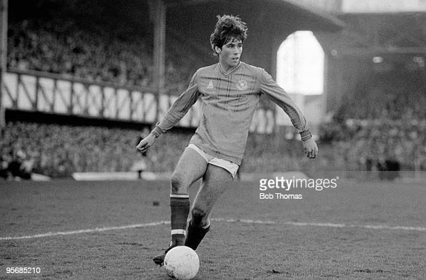 Neil Webb of Portsmouth during the Portsmouth v Southampton FA Cup 4th Round match played at Fratton Park Portsmouth on the 28th January 1984...
