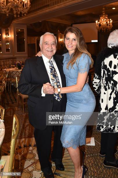 Neil Weinreb and Ana Laspetkovski attend Alzheimer's Drug Discovery Foundation's Ninth Annual Fall Symposium Luncheon at the Pierre Hotel on November...