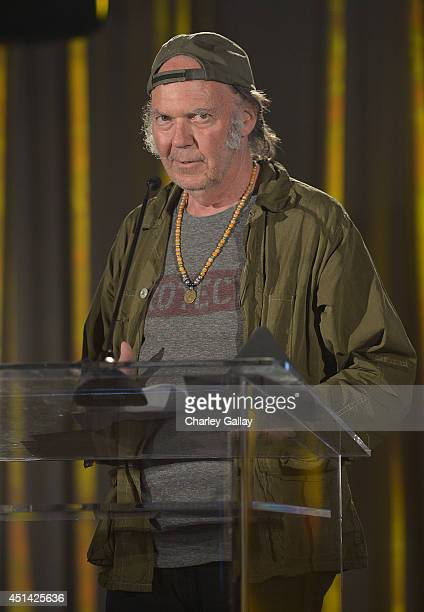 Neil Young attends The Pensado Awards at Fairmont Miramar Hotel on June 28 2014 in Santa Monica California