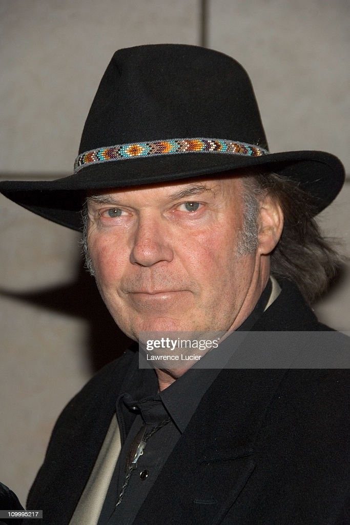 Neil Young during Neil Young Heart of Gold New York Screening - Arrivals at Walter Reade Theater in New York, NY, United States.