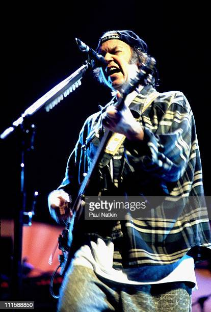 Neil Young during Neil Young in Concert October 2 1997 in Columbia South Carolina United States