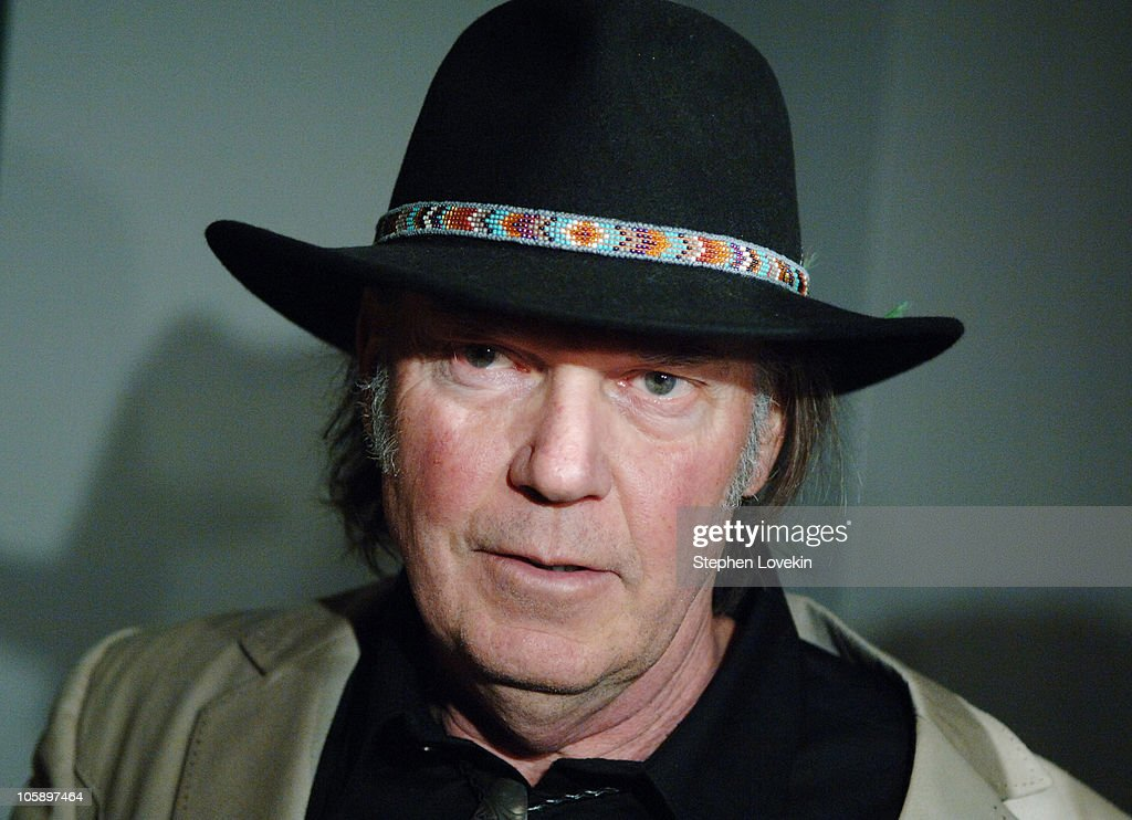 Neil Young during New York Special Screening of 'Neil Young: Heart of Gold' at Walter Reade Theatre at Lincoln Center in New York City, New York, United States.