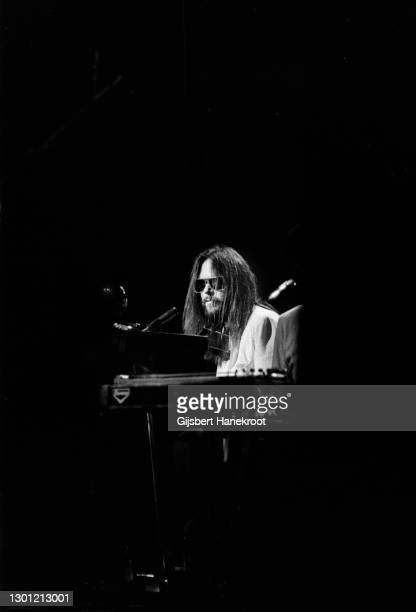 Neil Young performs on stage with The Santa Monica Flyers on Tonight's The Night, Rainbow Theatre, London, United Kingdom, 5th November 1973.