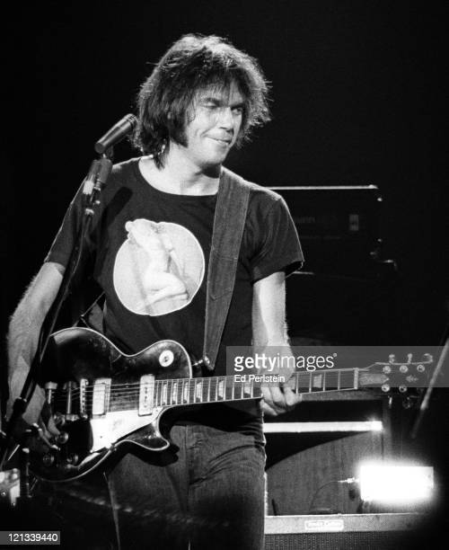 Neil Young performs with Crazy Horse at the Berkeley Community Theater in Berkeley California November 2 1976
