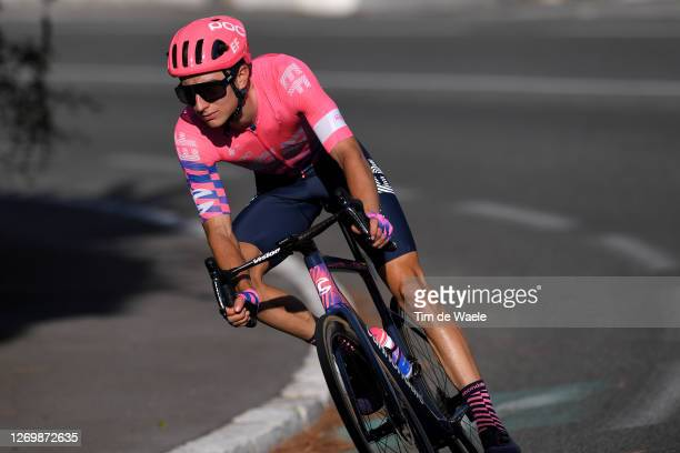 Neilson Powless of The United States and Team EF Pro Cycling / during the 107th Tour de France 2020, Stage 2 a 186km stage from Nice Haut Pays to...