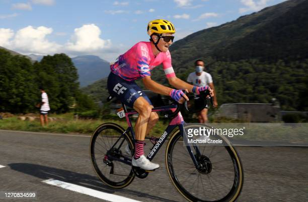 Neilson Powless of The United States and Team EF Pro Cycling / during the 107th Tour de France 2020, Stage 8 a 141km stage from Cazères-Sur-Garonne...