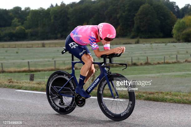Neilson Powless of The United States and Team EF Pro Cycling / during the 107th Tour de France 2020, Stage 20 a 36,2km Individual Time Trial stage...