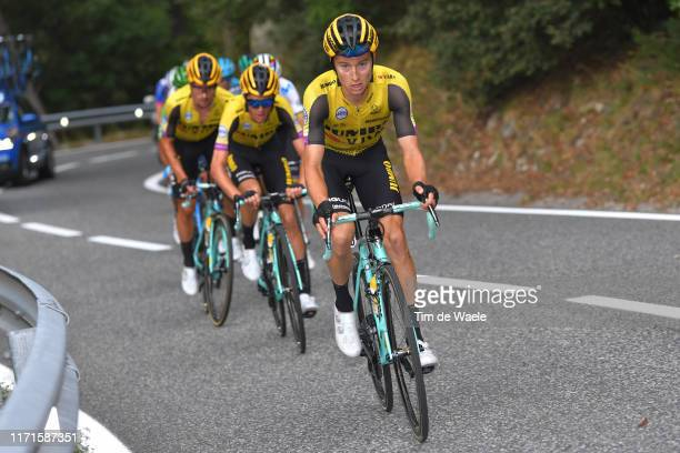 Neilson Powless of The United States and Team Jumbo-Visma / during the 74th Tour of Spain 2019, Stage 9 a 94,4km stage from Andorra la Vella to Alto...