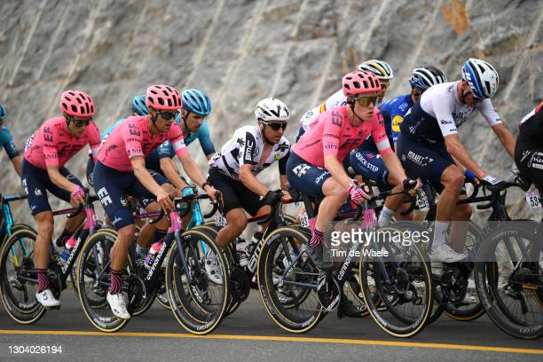 Neilson Powless of United States and Team EF Education-Nippo, Ruben Guerreiro of Portugal and Team EF Education-Nippo, Domenico Pozzovivo of Italy...