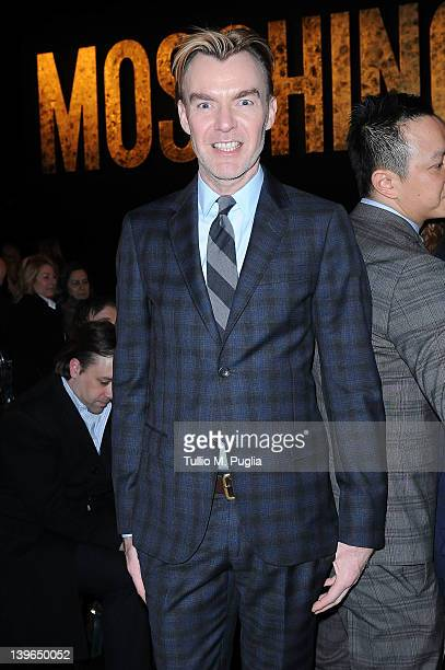 Neiman Marcus Fashion Director Ken Downing attends the Moschino Autumn/Winter 2012/2013 fashion show as part of Milan Womenswear Fashion Week on...