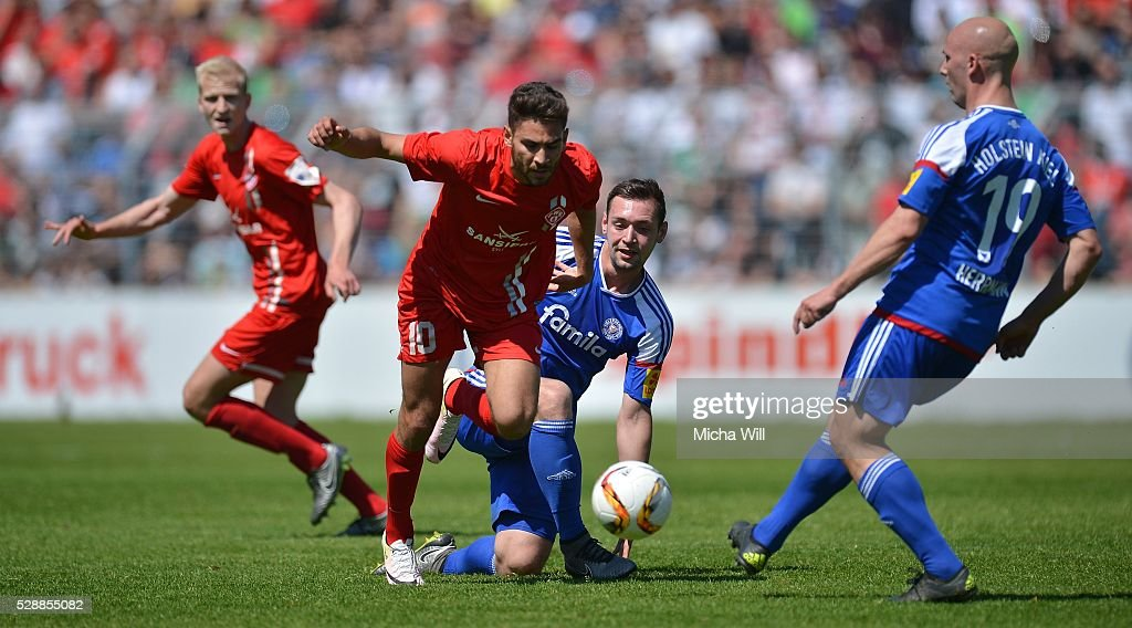 Wuerzburger Kickers v Holstein Kiel  - 3. Liga : News Photo