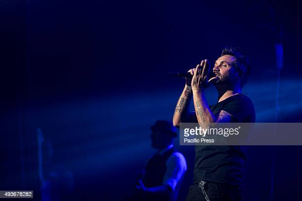 Nek Singer songwriter performs live his album Prima di Parlare at Teatro Augusteo in Naples Filippo Neviani known by his stage name Nek is an Italian...
