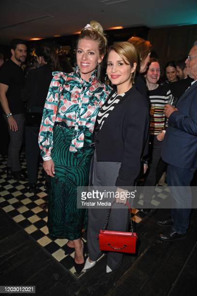 Nele Kiper and Cristina do Rego at the Bavaria Fiction Cocktail during the 70th Berlinale International Film Festival Berlin at Soho House on...