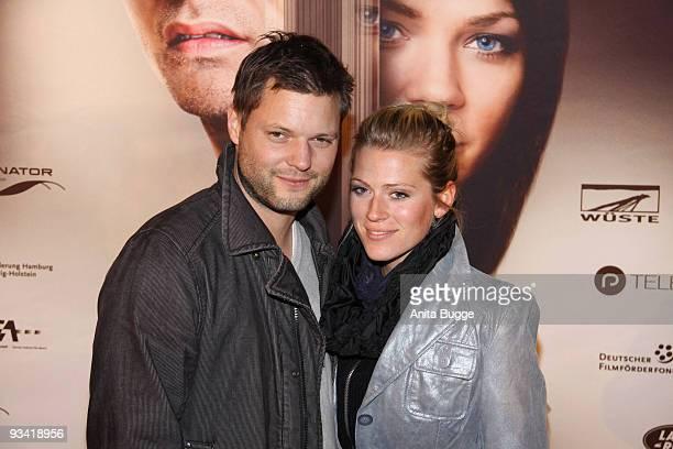 Nele Kiper and Peter Thorwarth arrive at the Germany film premiere of 'Die Tuer' at Kulturbrauerei on November 25, 2009 in Berlin, Germany.