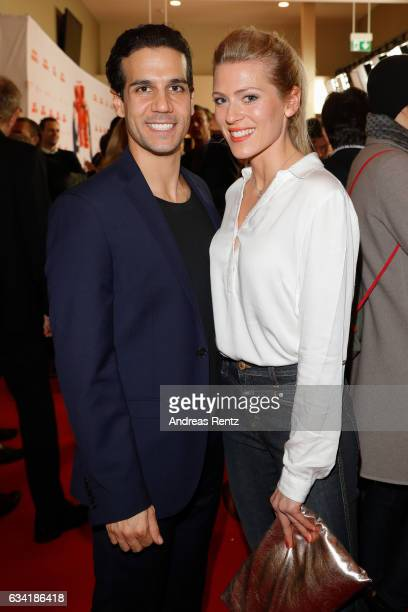Nele Kiper attend 'Schatz, Nimm Du sie!' German movie premiere at Cineplex Cologne on February 7, 2017 in Cologne, Germany.
