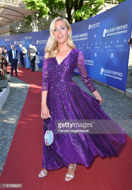 Nele Kiper attends the Bayerische Fernsehpreis 2019 at Prinzregententheater on May 24, 2019 in Munich, Germany.