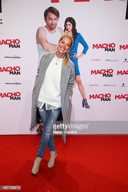 Nele Kiper attends the German premiere of the film 'Macho Man' at Cinedom on October 14, 2015 in Cologne, Germany.