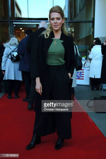 Nele Kiper attends the Hessian reception during the 69th Berlinale International Film Festival on February 12, 2019 in Berlin, Germany.