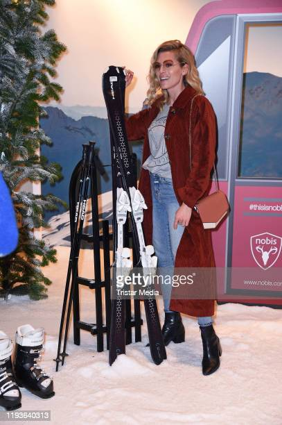 Nele Kiper attends the Nobis Collection Viewing during Berlin Fashion Week Autumn/Winter 2020 at Hotel de Rome on January 14 2020 in Berlin Germany