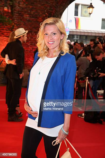 Nele Kiper attends the NRW Filmparty at Wolkenburg on June 17 2014 in Cologne Germany