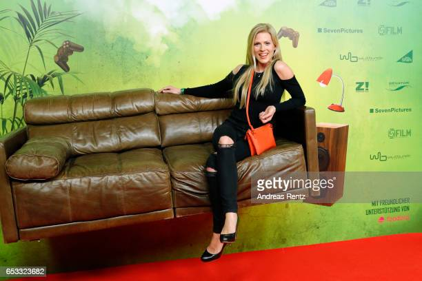 Nele Kiper attends the premiere of the film 'Lommbock' at Cinedom on March 14 2017 in Cologne Germany