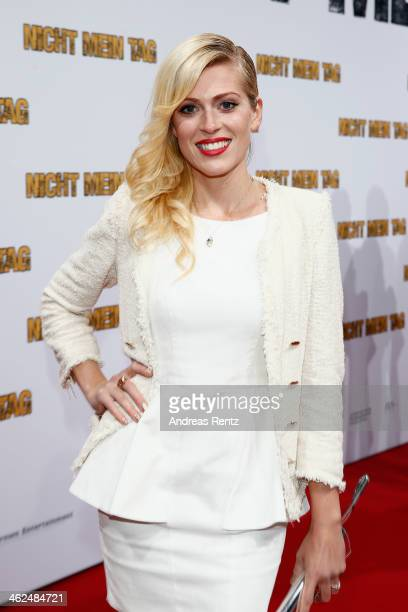 Nele Kiper attends the premiere of the film 'Nicht mein Tag' at CineStar on January 13, 2014 in Berlin, Germany.