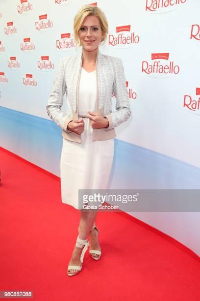 Nele Kiper during the Raffaello Summer Day 2018 to celebrate the 28th anniversary of Raffaello on June 21, 2018 in Berlin, Germany.