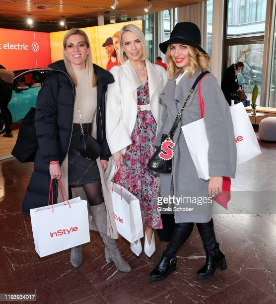 Nele Kiper, Lara-Isabelle Rentinck and Susan Sideropoulos during the VW at Instyle Lounge event as part of the Berlin Fashion Week Autumn/Winter 2020...