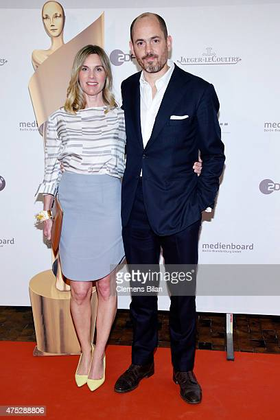 Nele MuellerStoefen and Ivo Pietzcker attend the nominee dinner for the German Film Award 2015 Lola at on May 30 2015 in Berlin Germany