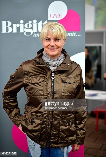 Nele Neuhaus attends the Brigitte Live Talk at Open Stage at the 2016 Frankfurt Book Fair on October 22 2016 in Frankfurt am Main Germany The 2016...