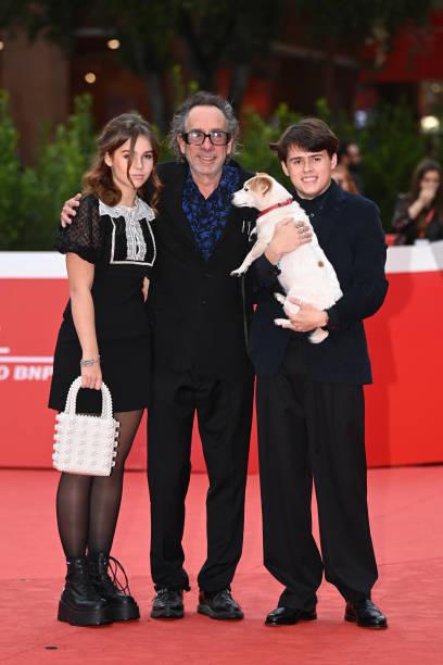 ITA: Tim Burton Close Encounter Red Carpet - 16th Rome Film Fest 2021