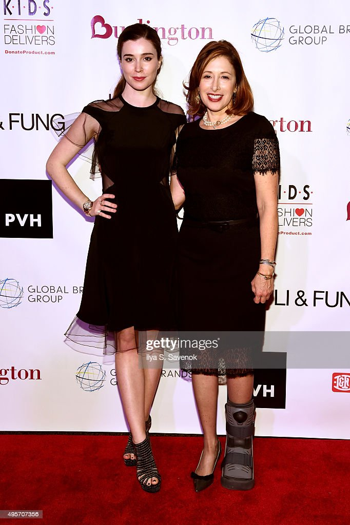 Nell Diamond and President and CEO of K.I.D.S./Fashion Delivers Lisa Gurwitch attends K.I.D.S/Fashion Delivers Annual Gala at American Museum of Natural History on November 4, 2015 in New York City.